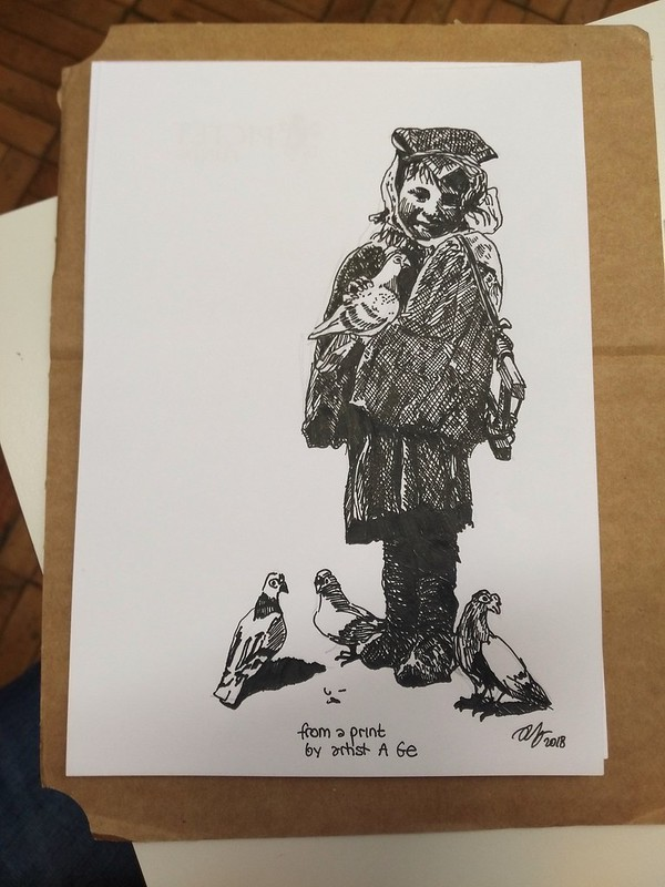 Copy of a print from artist A Ge