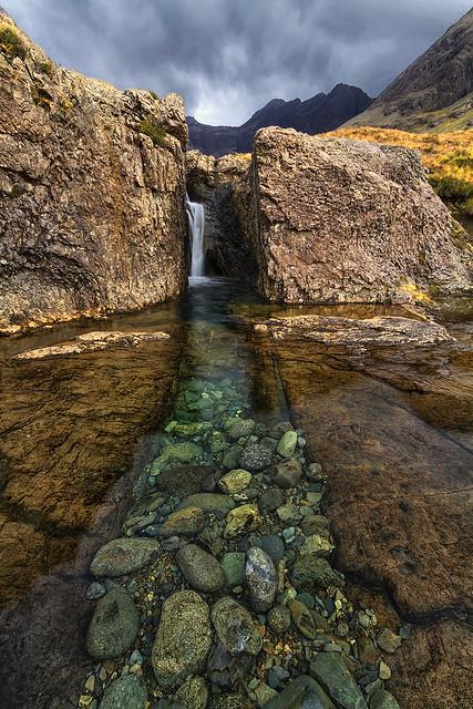 Washing Machine Falls, Glen Brittle, Isle of Skye, Scotland