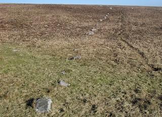 Bancbryn stone row
