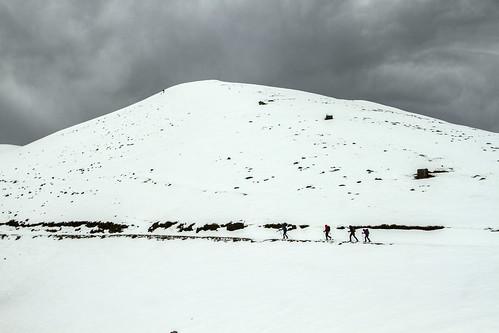 Saioa mendia 1417 m eta Artesiaga 984 m.