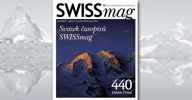 Svazek časopisů SWISSmag 3-8