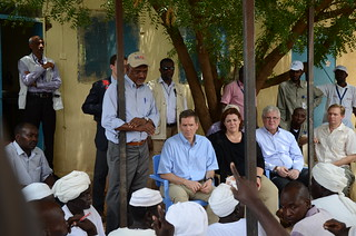 Administrator Green meets community leaders in Darfur, Sudan