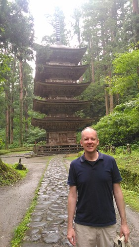 #TeachAbroadBecause ... Every day will be a richer experience. Talking with Patrick Foss, author of Across Tokyo.