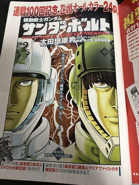 Gundam Thunderbolt 100