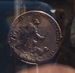 Michelangelo medal reverse