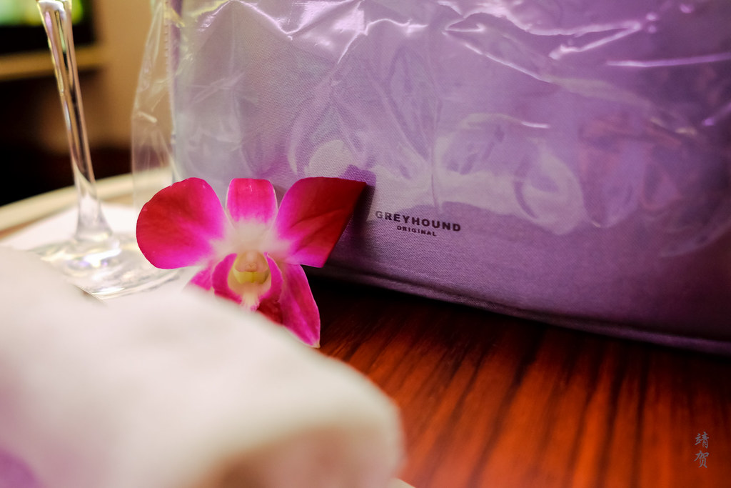 Orchid and amenity kit