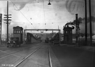 Fremont Bridge, 1928