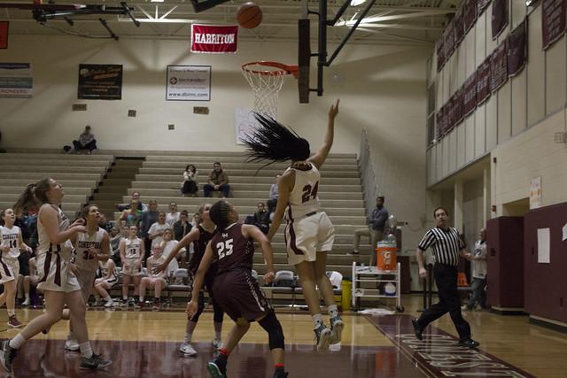 Girls basketball vs. Lower Merion