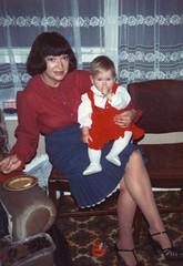 Scanned Photo - 1970s - Sandra and Manda?