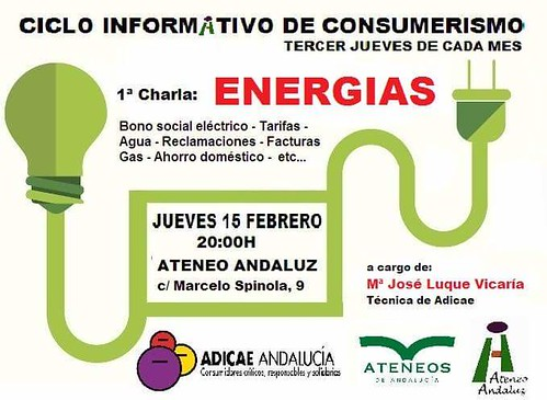Charla sobre consumo responsable en Ateneo Andaluz