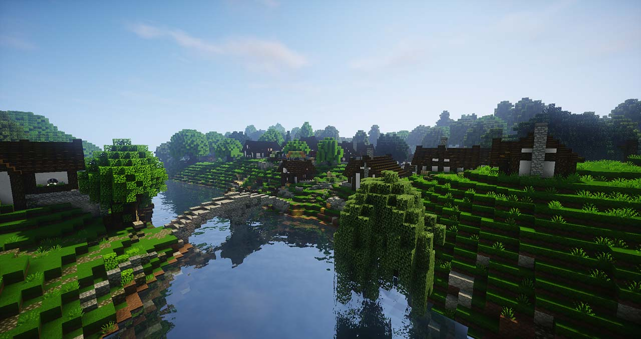 Minecraft Middle Earth By @mcmiddleearth: Hobbiton – The Hobbit Town