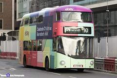 Wrightbus NRM NBFL - LTZ 1156 - LT156 - eBay - Hammersmith 10 - RATP Group London - London 2017 - Steven Gray - IMG_6053