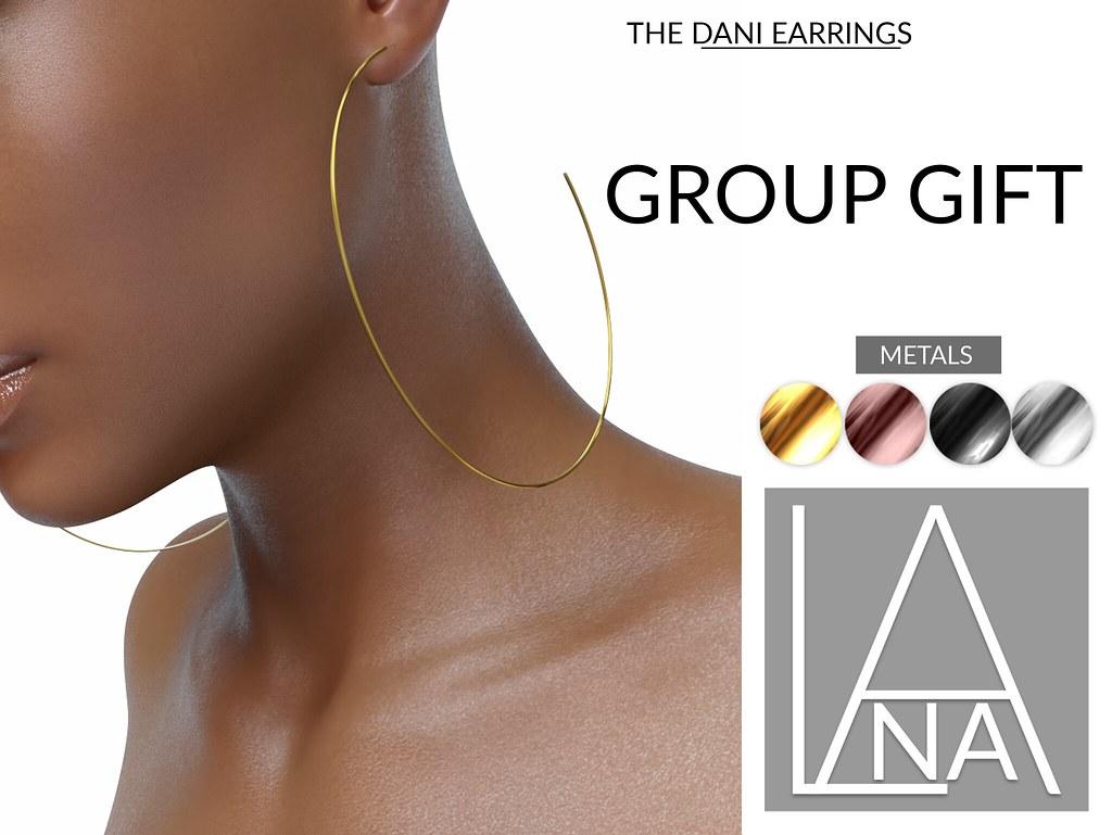 #LANA – Dani Earrings GROUP GIFT