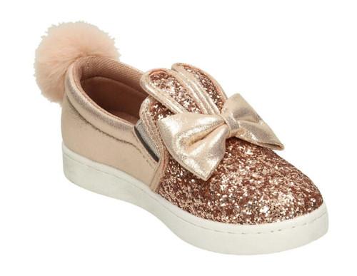Glitter Bunny Tennis Shoe