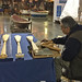 Puyallup Tribal member carves paddles
