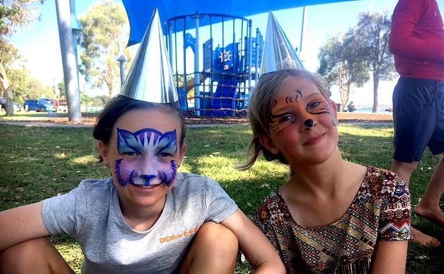 Freya and Zoe