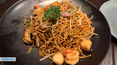 Seafood Noodles at Baron's Xi'An Kitchen & Bar | Bellevue.com
