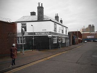 Dryden St  Leicester  (the FORESTERS ARMS reappears.)