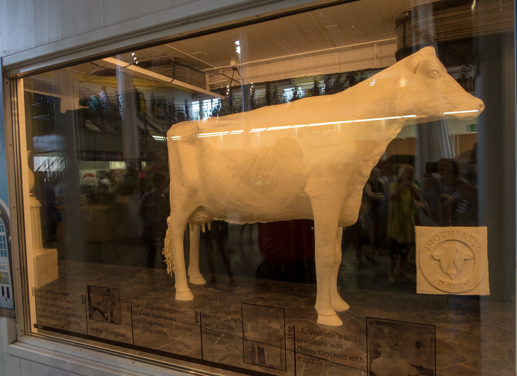2017 Iowa State Fair Butter Cow
