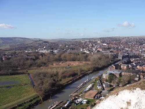 Lewes & River Ouse