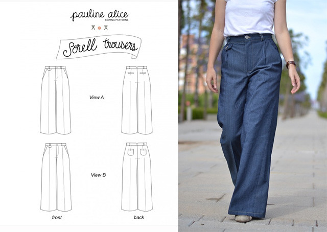Sorell trousers pattern