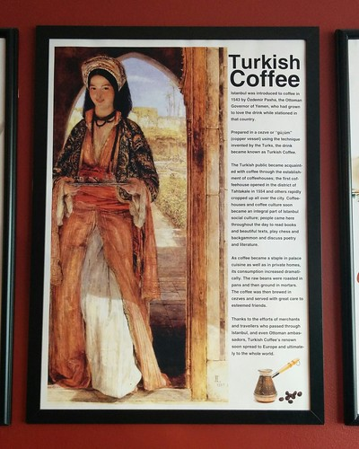 The History of Turkish Coffee #toronto #islingtoncitycentrewest #galatacafe #dundasstreetwest #coffee #restaurant #posters #latergram