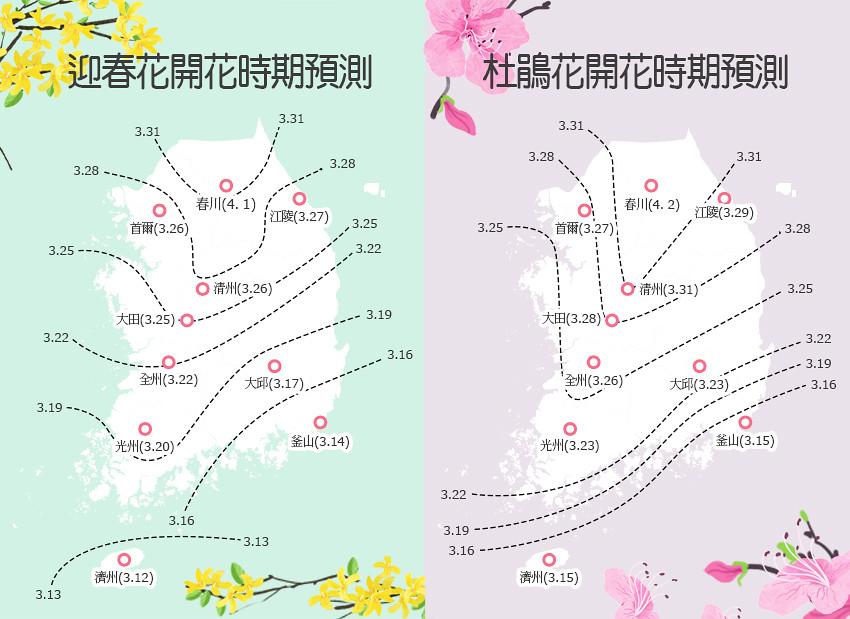 【2020韓國櫻花】賞櫻攻略|櫻花季綻放預測時間|首爾/釜山/大邱/濟州等地|一日團整理(每年持續更新) @Gina環球旅行生活
