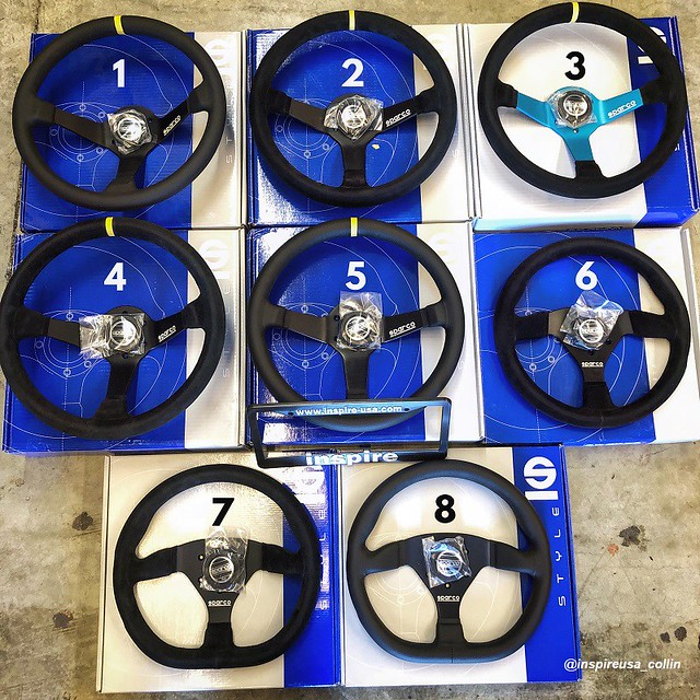Sparco Steering Wheels 1