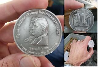 Trump Jerusalem Medal
