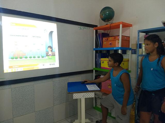 Jogos multimídia na aula de Português - 5º Ano