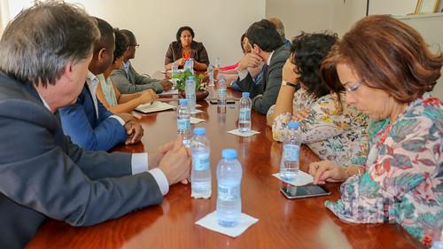 Ministro da Saúde de Portugal inteira-se do progresso do Mestrado Integrado em Medicina
