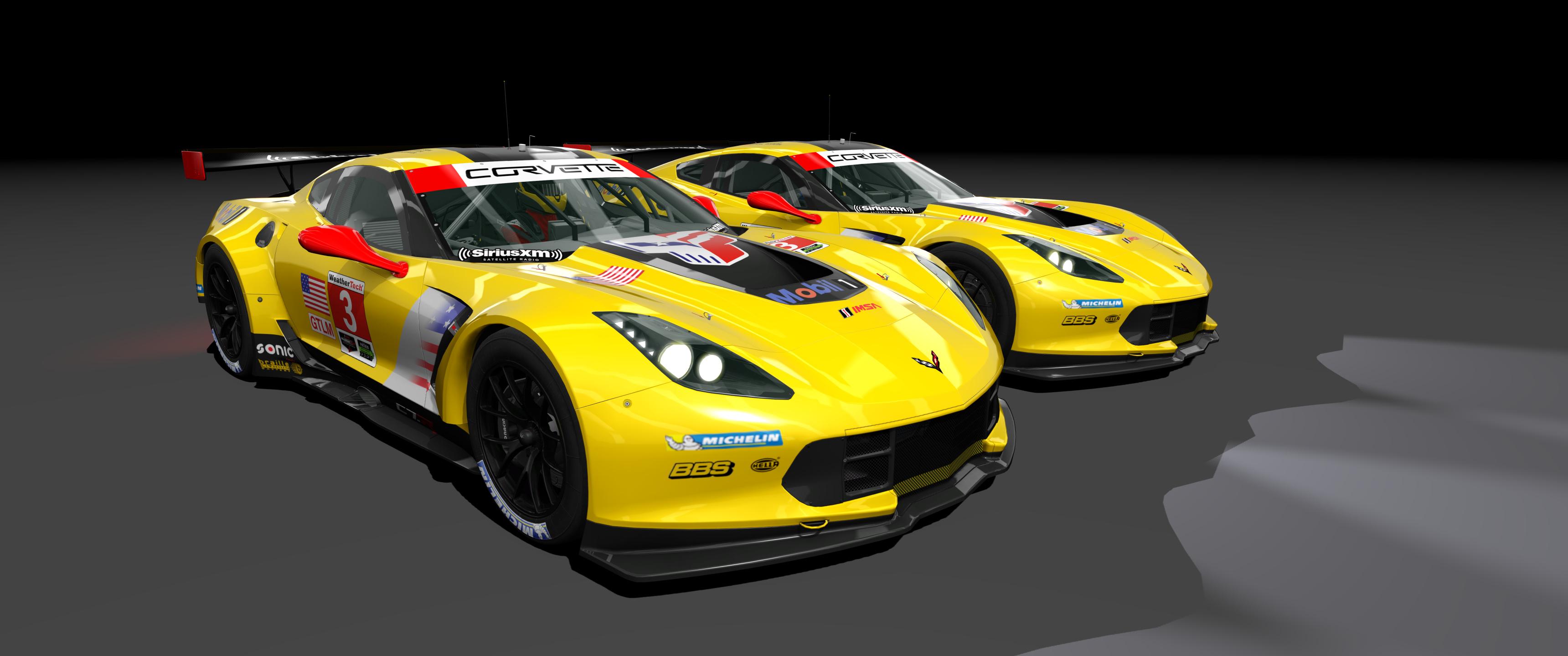 2018 Corvette Racing C7.R