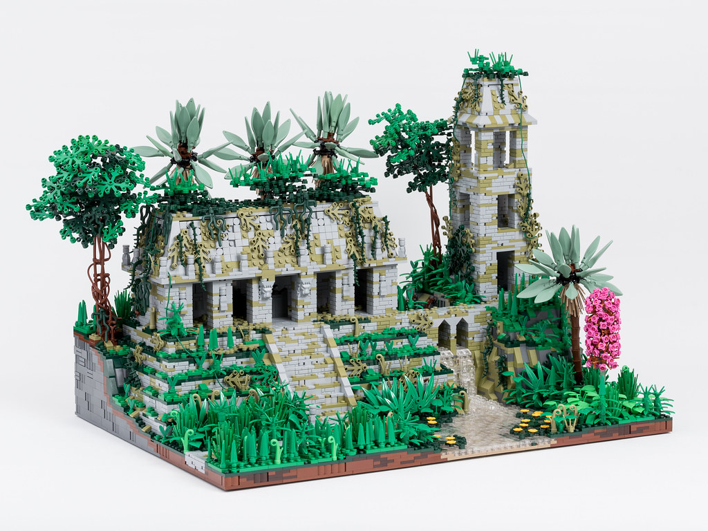 Temple in the Jungles of Celestia, Without Figures