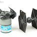 TIE Fighter & Advanced X1 by Andy R Moore
