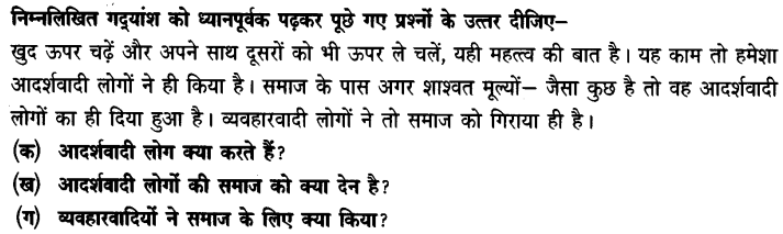 Chapter Wise Important Questions CBSE Class 10 Hindi B - पतझर में टूटी पत्तियाँ 24