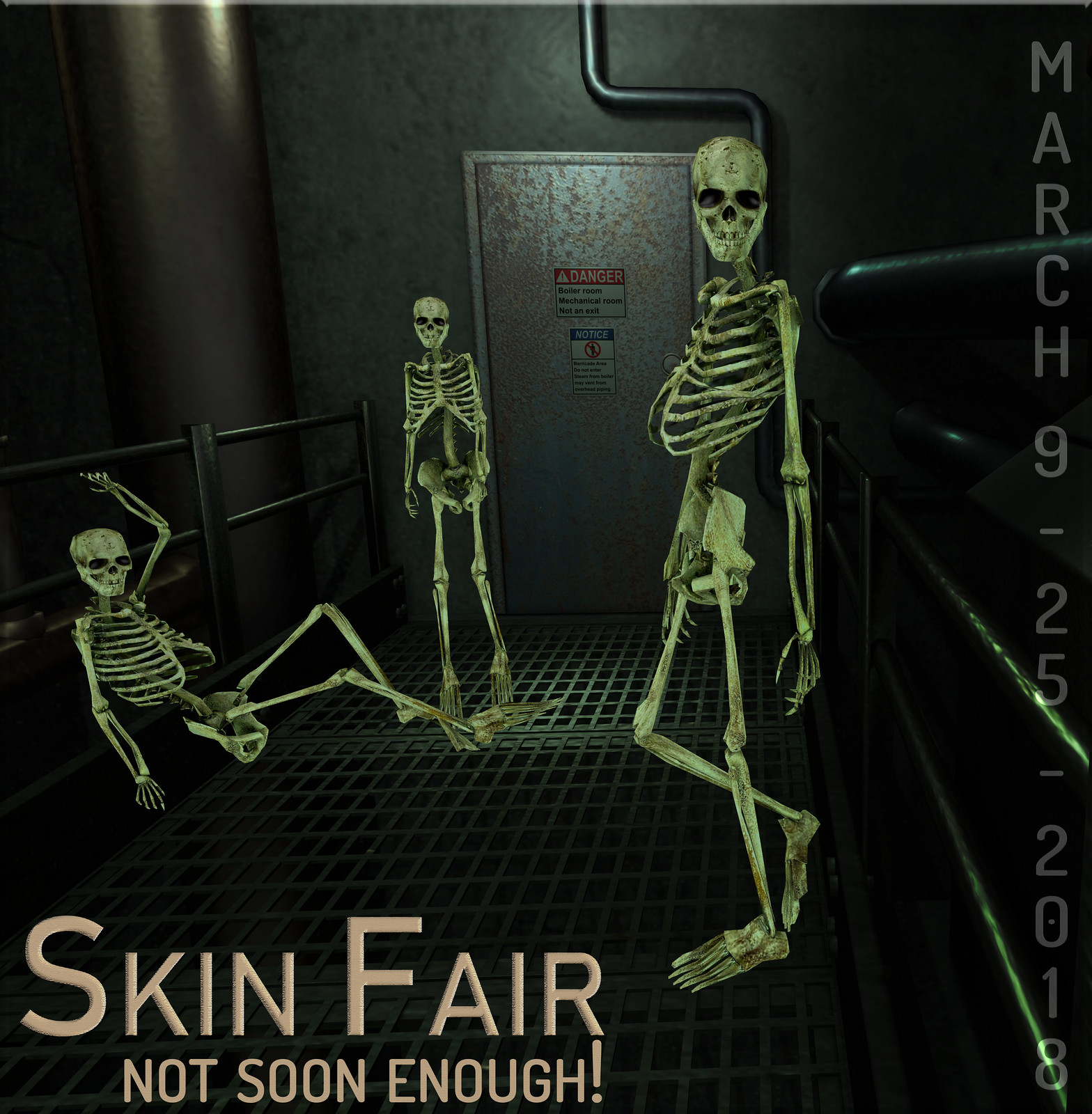 Skin Fair - Not Soon Enough