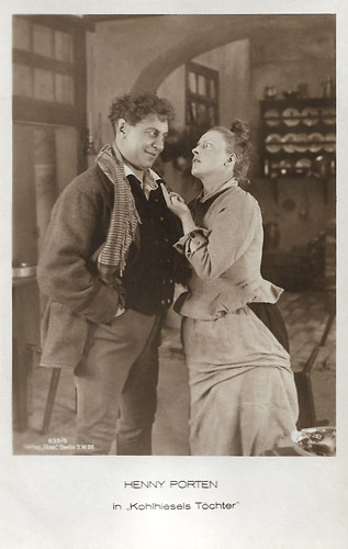 Emil Jannings and Henny Porten in Kohlhiesels Töchter (1920)