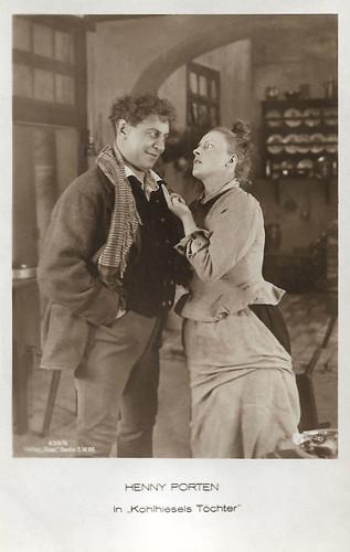 Emil Jannings and Henny Porten in Kohlhiesels Töchter (1920)