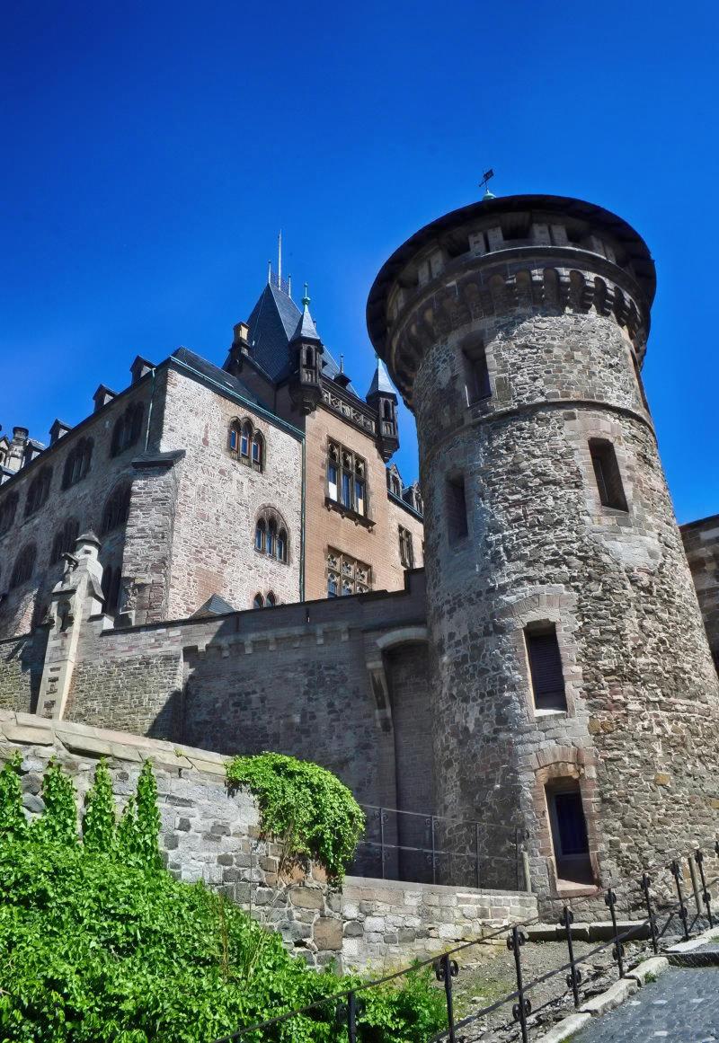 Wernigerode Castle. Credit Klugschnacker