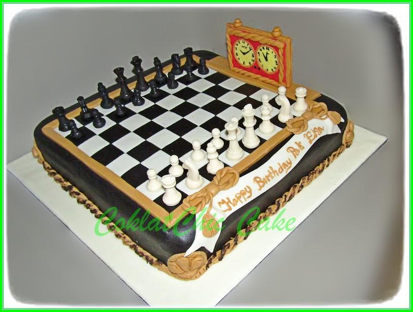 Cake Catur Pak Eka 30cm
