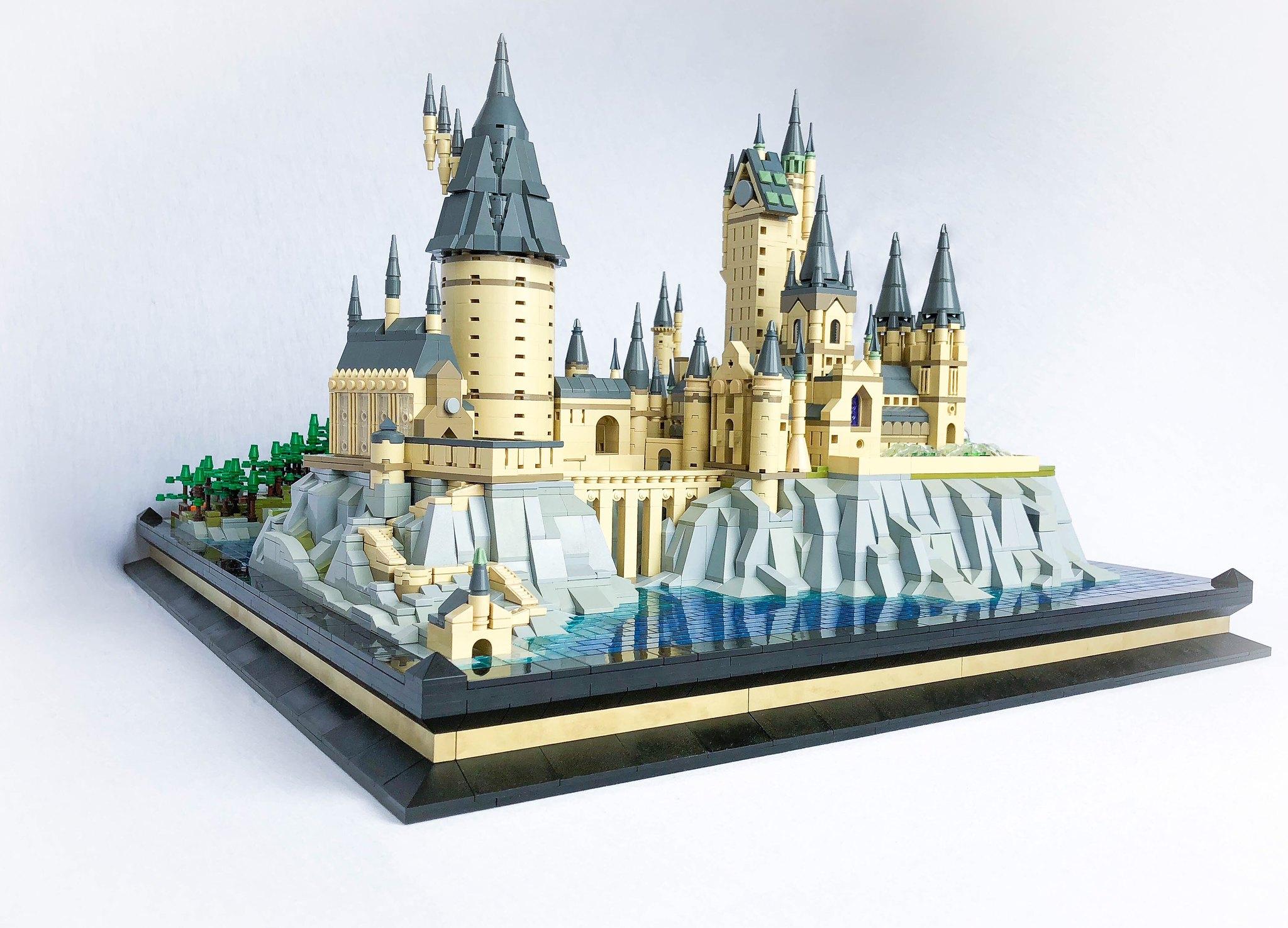 LEGO 71043 Microscale-Hogwarts: So könnte es aussehen