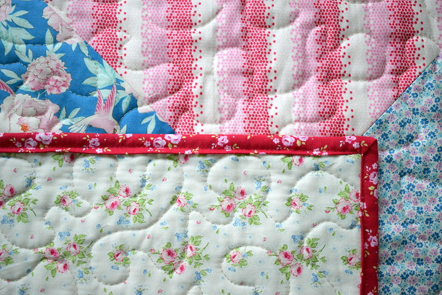 Tilda Lemon Tree Blog Hop: QST Mini Quilt