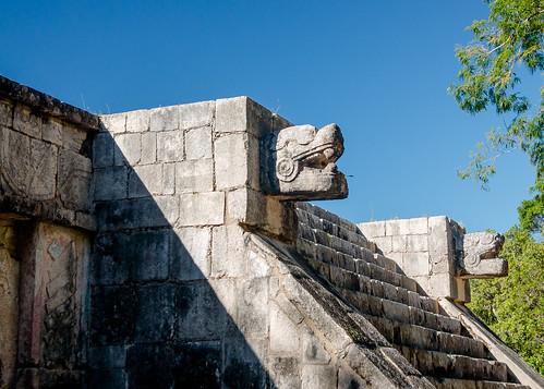 El observatorio, Chichen Itza, México