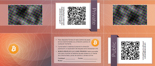 Wallet papper Bitcoin