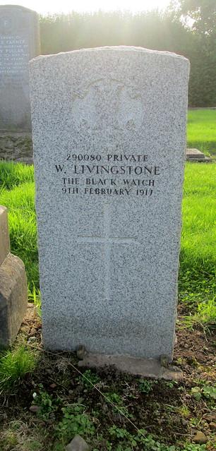 Leslie Cemetery War Grave
