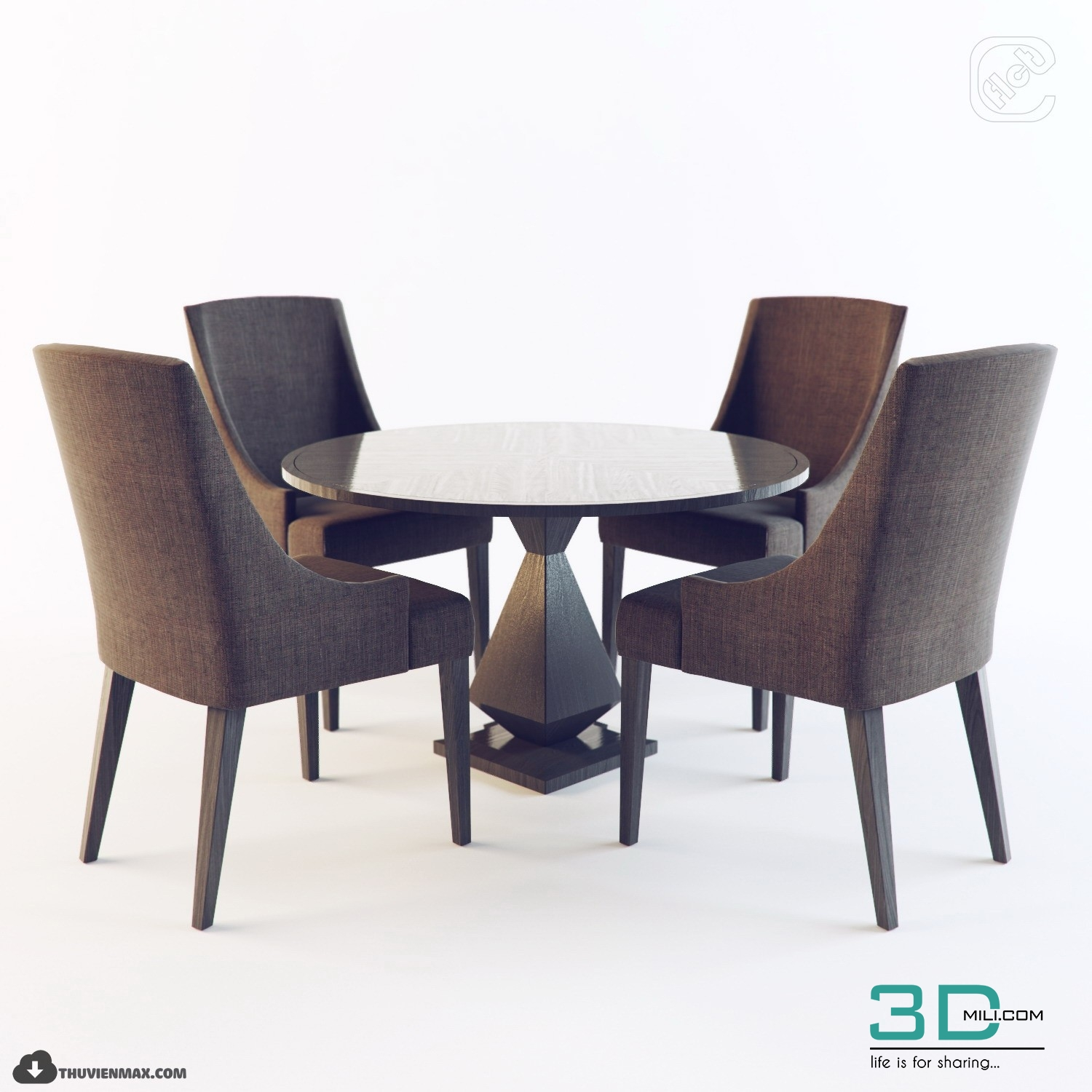 219 table chair 3d models free download 3d mili. Black Bedroom Furniture Sets. Home Design Ideas