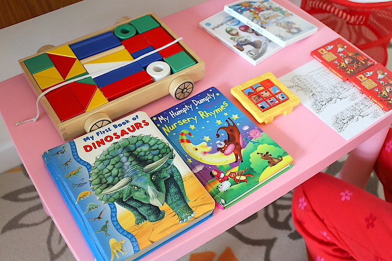 Kids books and toys at Swissotel Merchant Court Singapore