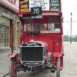 Sun, 2017-04-09 17:18 - Parked outside the Co-operative store  on Beamish Museum's town street is a 1922 Tilling-Stevens TS3A petrol-electric motorbus, registered XL 1204, waiting to take on board the next load of passengers.   The bus was at Beamish as part of the Great North Steam Fair of 2017.  Copyright © 2018 Terry Pinnegar Photography. All Rights Reserved.  THIS IMAGE IS NOT TO BE USED WITHOUT MY EXPRESS PERMISSION!