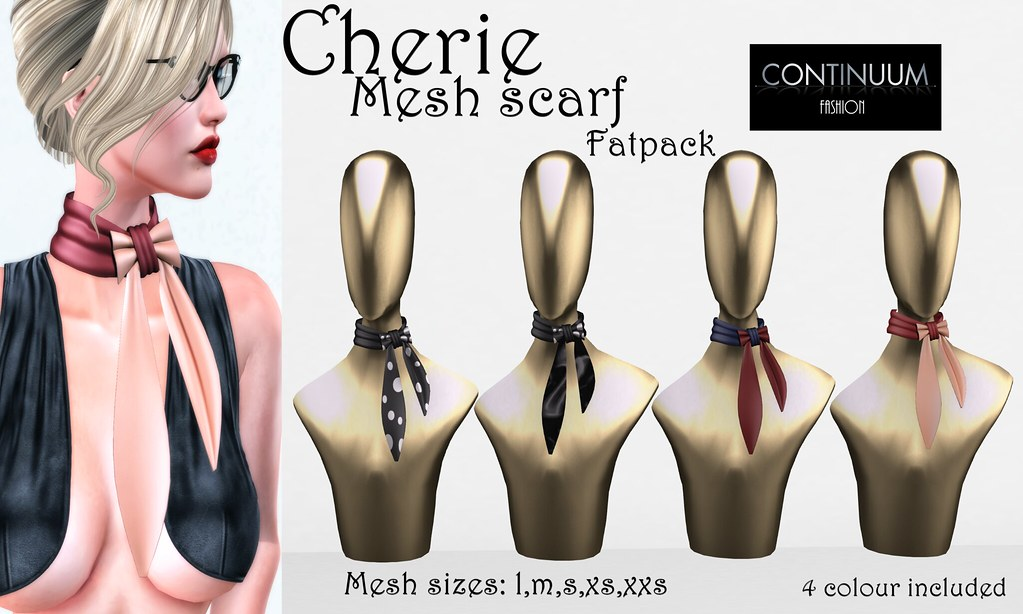 Continuum Fashion Cherie scarf