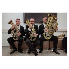 3 mousquetaires, Seoul Leica Q . #leicaQ #leica #leicacamera #leicaqtyp116 #leicacraft #leica_photos #leica_uk #leica_world #leicaphotography #leica_club #twitter #geoffroyschied @lucernefestival #seoul #korea #tuba #brass #wagner #mousquetaires #trio #we